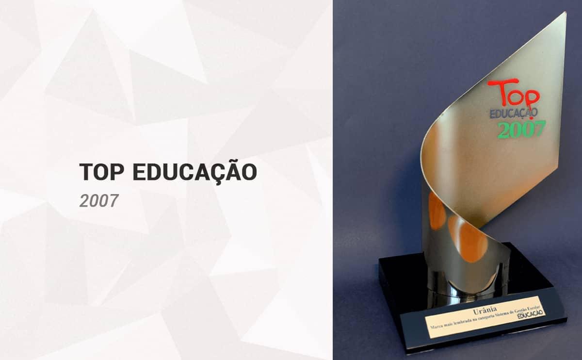Top Educação 2007