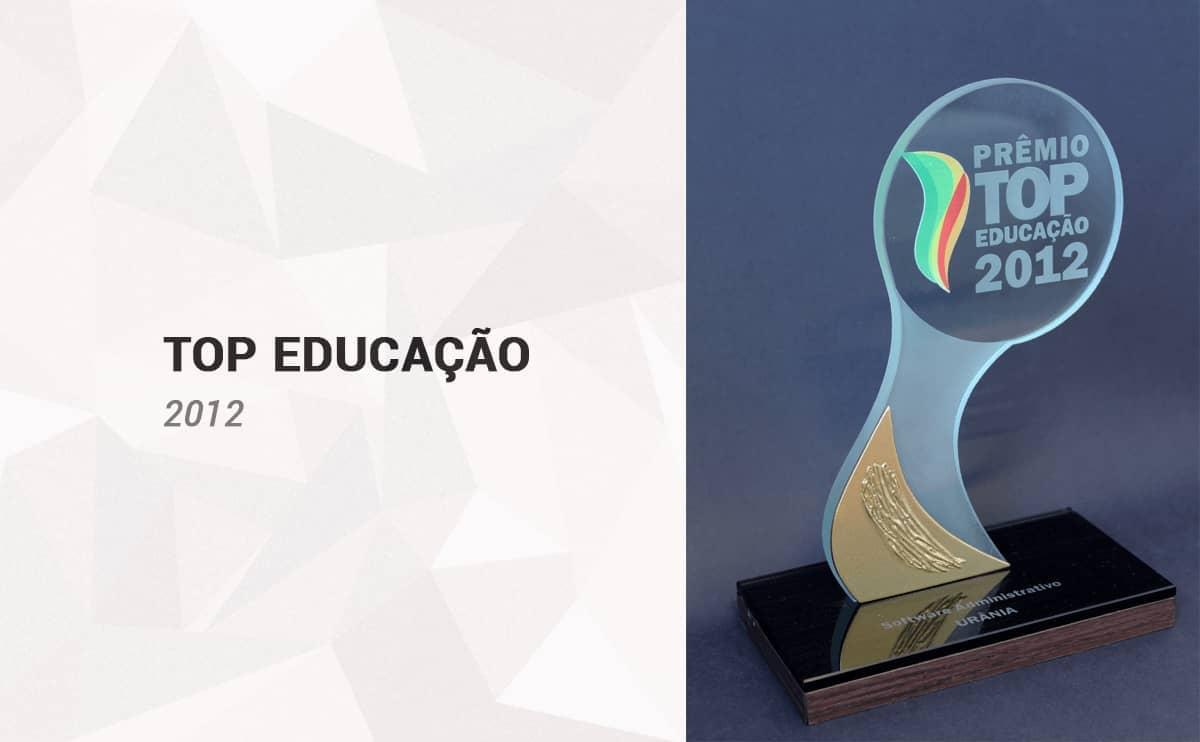 Top Educação 2012