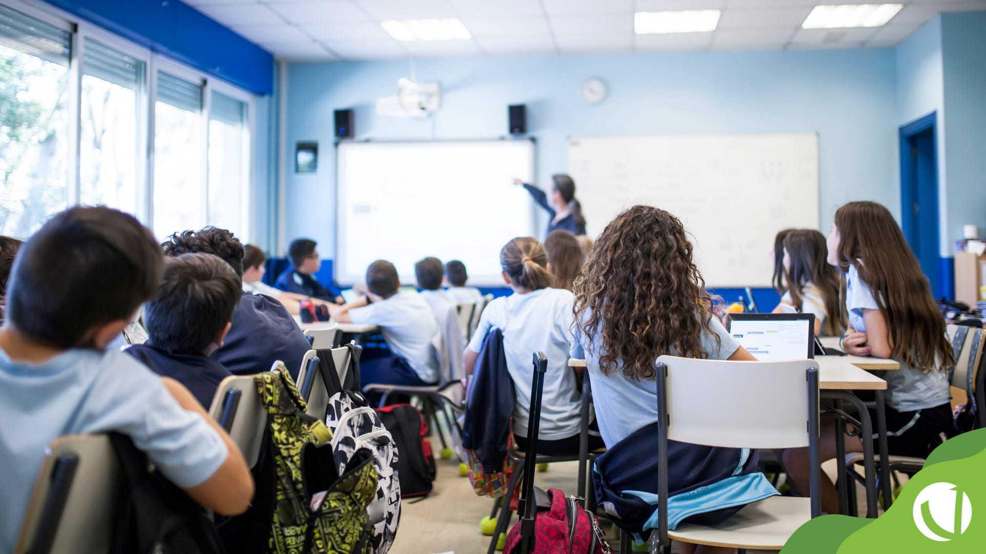 formação de turmas na escola